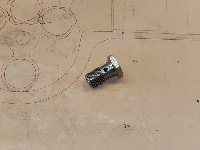 Banjo Bolt for Oil Pick-Up - Brescia