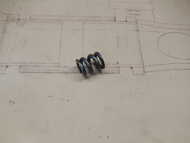 Track Rod End Spring - T35-T37-T40