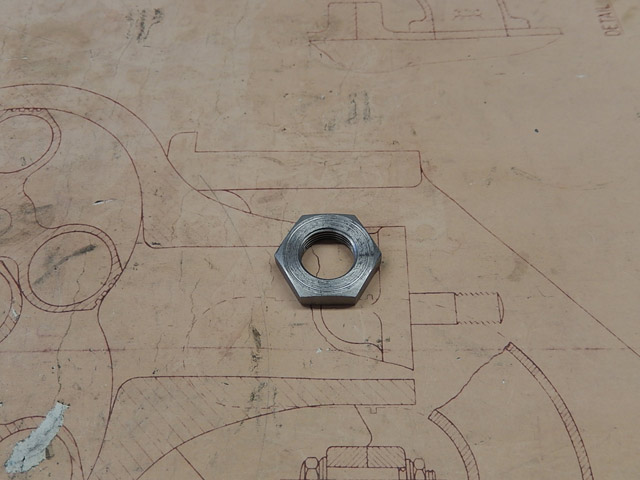 Rear Spring Rear Bolt Lock Nut