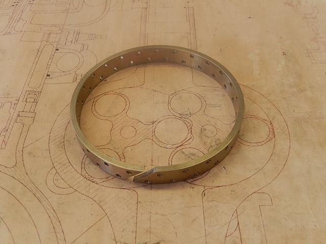 Shock Absorber Ring - Brass
