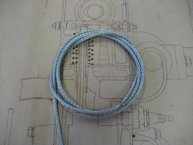 Brake Cable Galvanised - 4mm