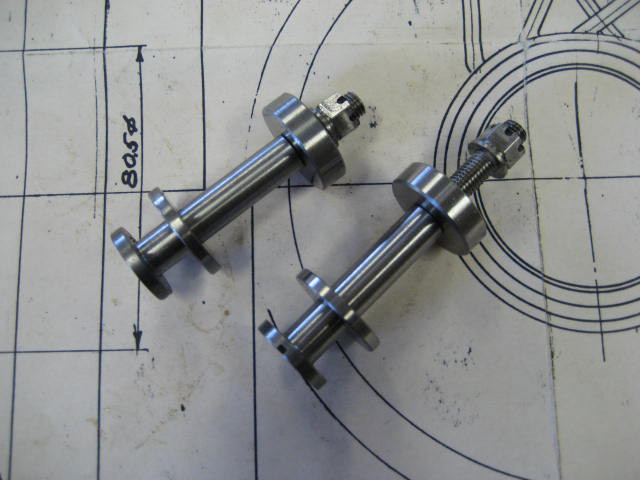 Brake Shoe Retaining Screw - 64.5mm