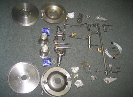 Four Wheel Brake Conversion Kit - Brescia
