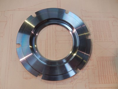 Clutch Steel Driving Plate - Recessed