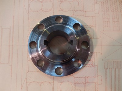 Clutch Shaft Flange GP Cars-T37-T40-T43-T44-T49