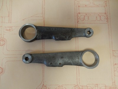 Cross Shaft Clutch Lever - Brescia