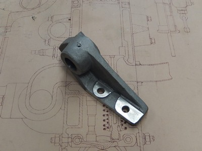 Pedal Shaft Mounting Bracket LH - Brescia
