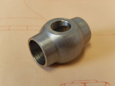 Banjo Middle Double for Main Oil Gallery - 12mm Pipe