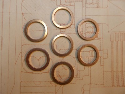 Copper Sealing Washer - 18mm - Transmission Oil Fill Level and Drain Plugs