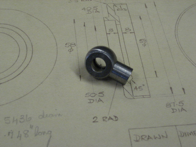 Banjo for Oil Gallery to Cambox and Front Main Bearing - 8mm
