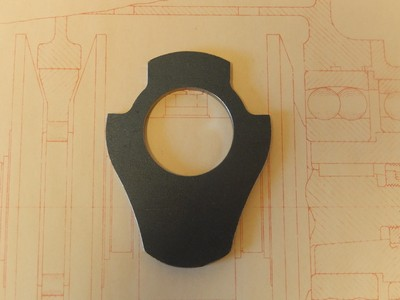 Magneto Step-Up Gear Housing Backplate