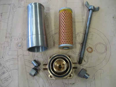 Oil Filter Complete Assembly - GP Cars