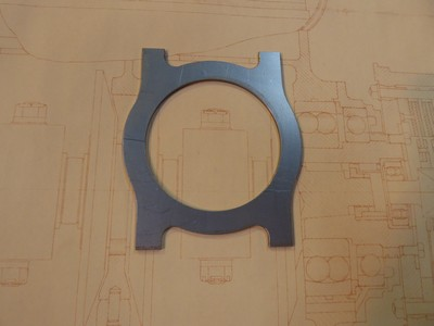 Colling Fan Bracket - Centre - GP Cars