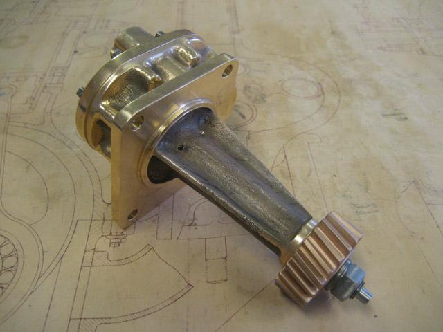 Oil Pump Complete - T35-T38-T51-T55