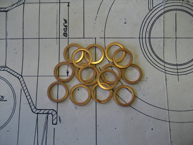 Copper Sealing Washer - 16mm Oil Union Bolts