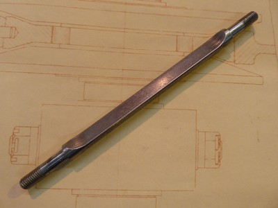 Inter Block Bolt Double Ended - Steel - 7x1.00x170