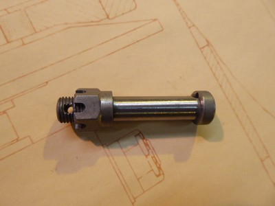 Big End Bolt with Nut - Steel 9x1.00