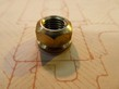 13mm Hex Brass Plain Cambox Nut - 9mm x 1.25 Pitch