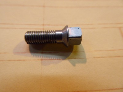 Square Head Bolt Countersunk 5mm - Stainless Steel - 5x0.75x13