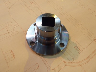 Differential Input Flange - Touring Cars