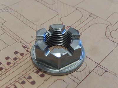 Differential Input Flange Nut - GP Cars