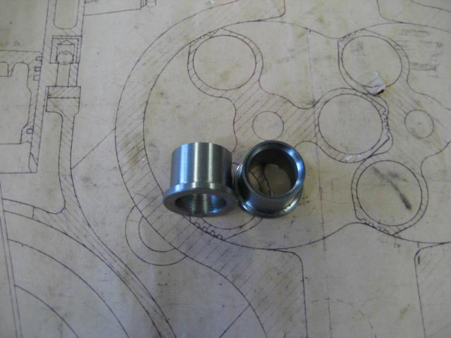 Stub Axle Bearing Sleeve - T35-T43-T51