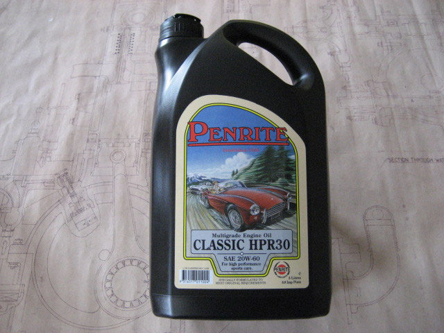 Engine Oil - Light 20/60W Viscosity