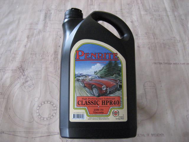 Engine Oil - Medium 25-70W Viscosity