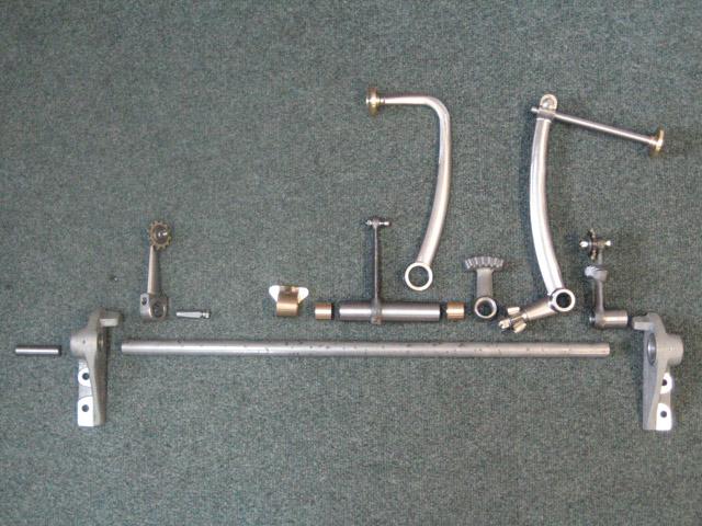 Pedal Shaft Assembly Kit - Brescia