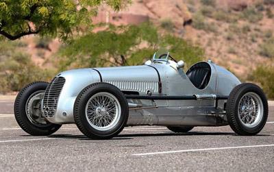 Vintage Maserati repair