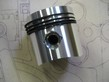 Piston with Clips, Pin and Rings - 69mm - T37-T37A-T40-T44