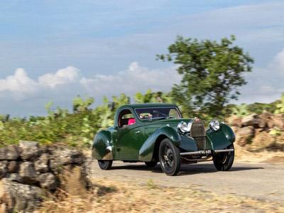 Green Bugatti