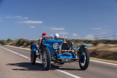 Bugatti rally