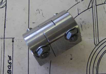 Vertical Drive Coupling Including Cotters - Brescia