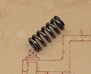 Detent Spring for Gearbox Selector Rod - GP Cars