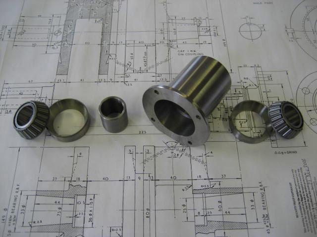Gearbox Taper Bearing Conversion Kit Including Bearings - GP Cars