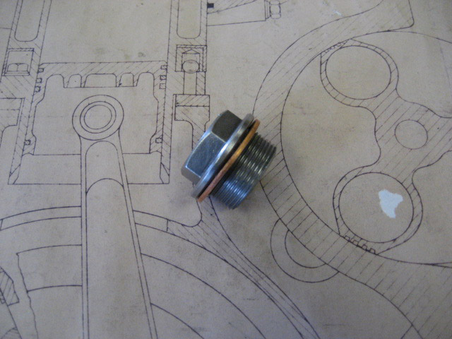 Differential Filler Plug with Copper Seal