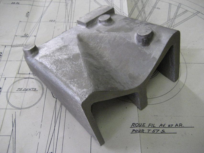 Gearbox Wing Repair Casting - LH - Brescia