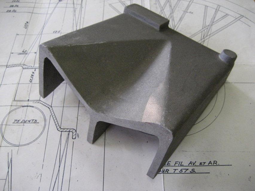 Gearbox Wing Repair Casting - RH - Brescia