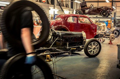 Bugatti Repair Workshop