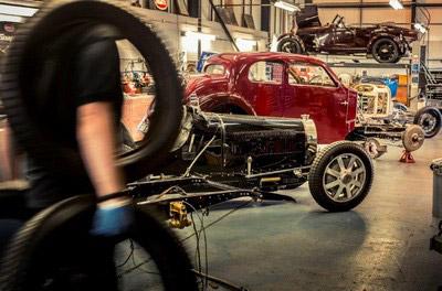 Bugatti Repair Workshop