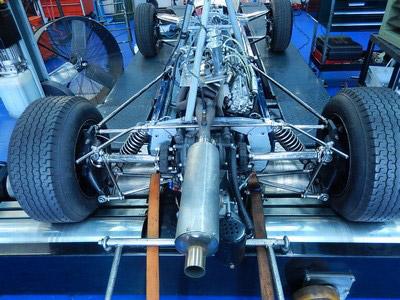 Bugatti rolling road