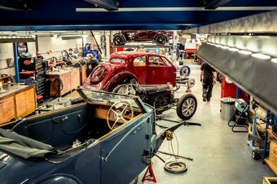 Bugatti Restoration Workshop